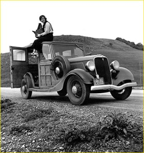 Dorothea Lange antes de fotografias la madre migrante