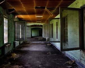 Interior del Hospital del Tórax