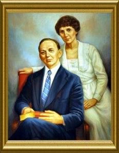 Edgar Evans Cayce y Gertrude Evans