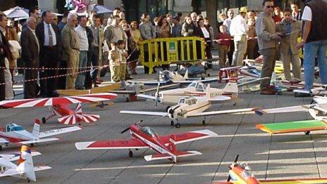 Quedada aeromodelismo en Lugo