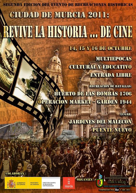 """Recreación histórica de la batalla """"Huerto de las bombas"""""""