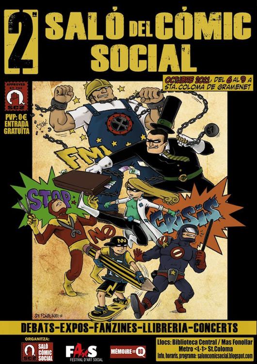 II Salón del Cómic Social